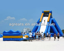2012 hot sale inflatable giant slide set on beach G4110
