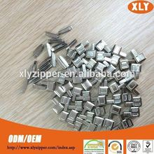 Factory sale metal zipper insertion pin and box brass top quality