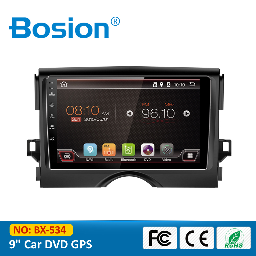 9 inch Android 4.4.4 Touch Screen DVD Radio Car GPS for Toyota Reiz with 3G Wifi Bluetooth RDS