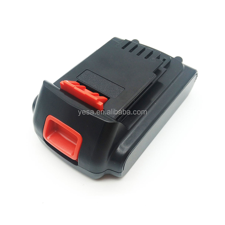 For Black Decker 20V 1.5Ah 2.0Ah Li-ion Superior Power Tools Li-ion Battery for BLACK&DECKER LB20 LBX20 LBXR20