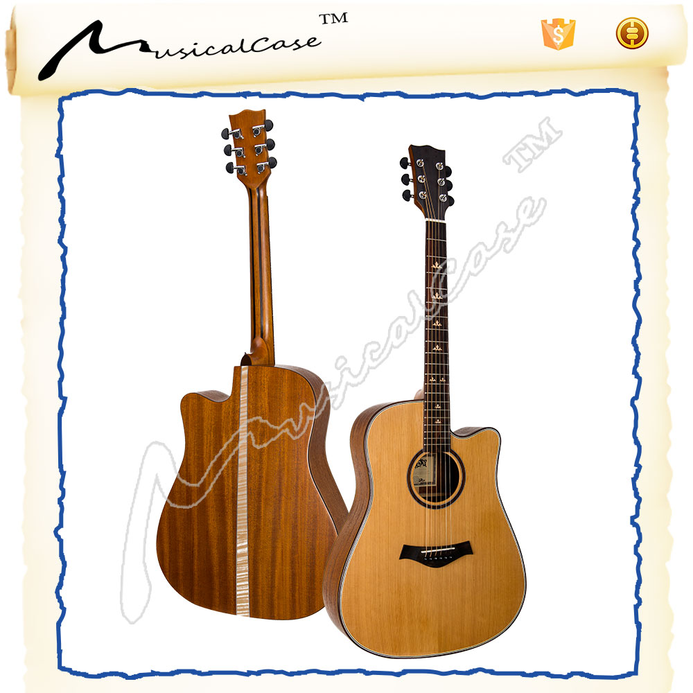 Acoustic guitar sakura solid acoustic guitar