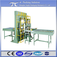 Board stretch film wrapping machine, Straight profile wrapping machine, Door Spiral Packaging Machinery