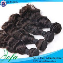 Aofa 2013 all textures cheap 100% virgin indian hair