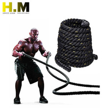 Top selling black training battle rope