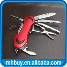 Multifunctional handy cutter knife,high quality stainless steel knife camping peeling knife for wholesales