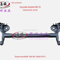 For Hyundai Accent 06 12 Rear