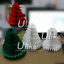 Beautiful indoor paper Christmas tree festival decoration artificial christmas tree