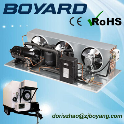 zhejiang boyard <strong>r134a</strong> r404a cargo van refrigeration units with boyang <strong>compressor</strong>