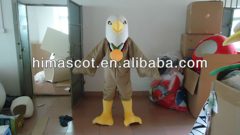 HI CE high quality Hawk animal costumes for adults