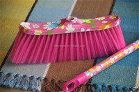 China factory supplier floor cleaning plastic broom broom corn for sale