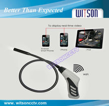 WITSON 8.0mm fixed camera head,wireless endoscopio,support Apple or Android device(W3-CMP3816W)