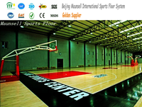 Indoor Basketball Sport Flooring with Cheap Price / Hot Sale