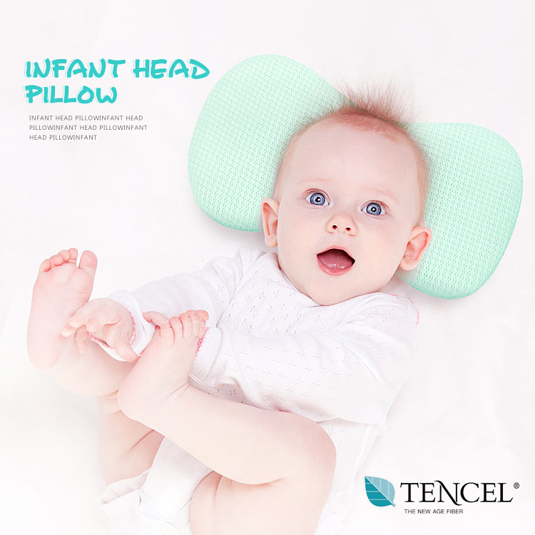 baby pillow, comfortable and antimicrobial baby pillow, easy washing baby pillow with oeko-tex
