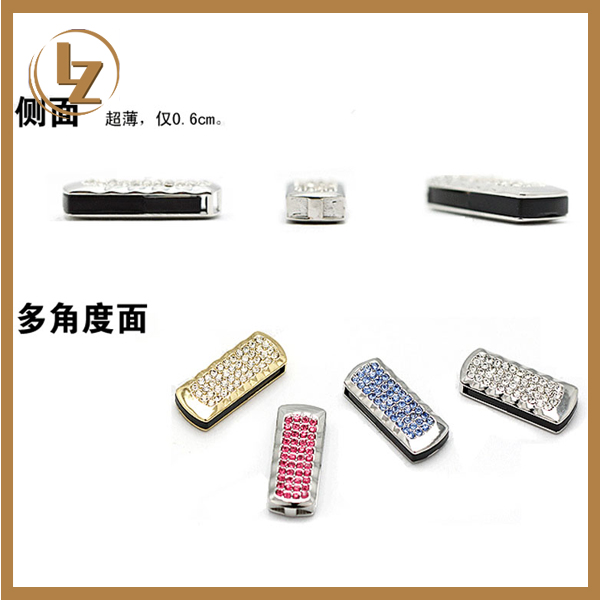 One touch promotional gift rotating jewelry diamond usb flash drive /pendrive