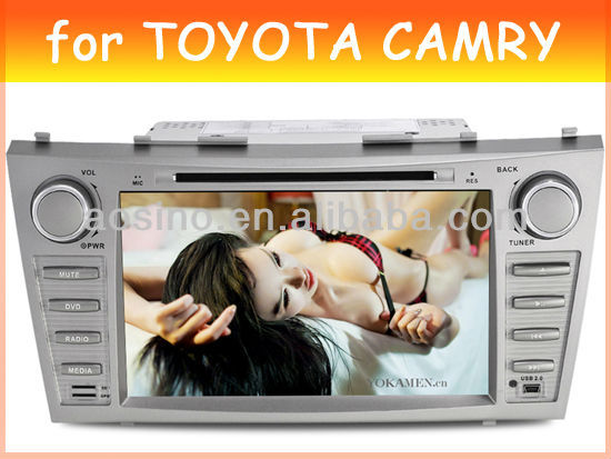 car dvd gps player for TOYOTA CAMRY 2007-2011 car radio car audio with gps navigation