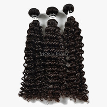 Single donor double weft 8A curly style hair can be colored virgin hair overseas indian hair