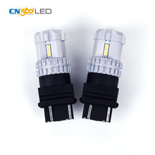 Good performance white amber DC10V-16V 660LM led auto lamp light in car