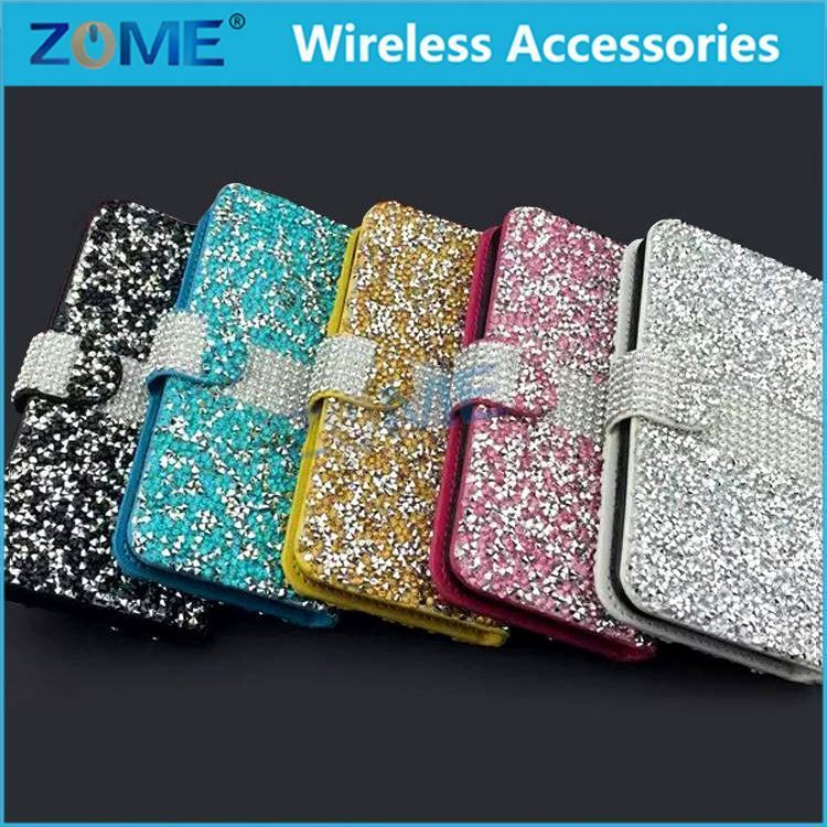 Made In China Cheap Phone Diamond Bling Colorful Hard Back Case For Lg K10