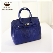 AS05 Fashion Style Latest Elegant Snakeskin Grain PU Leather Women Handbags Made in China Factory