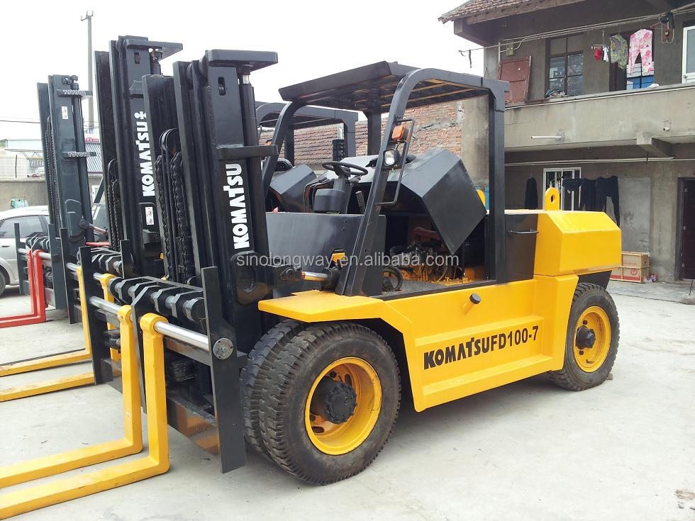 10 Ton Fork Lift : Used japan made ton forklift fd also