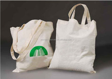 Yellow organic cotton shopping bags wholesale