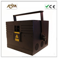 Programmable laser lights Full color animation writing laser light 1000mw ilda rgb laser