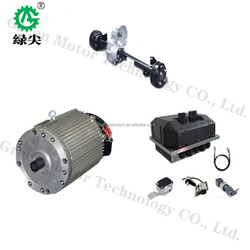 25kw electric car motor electric car wheel motor for sight seeing bus ev car