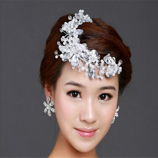 wholesale bridal hair accessories hand made rhinestone