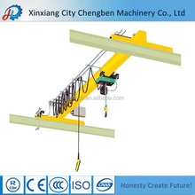 Road Construction Machinery 12T Rails Travelling Overhead Crane