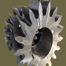 Professional custom forged fishing steel large gear