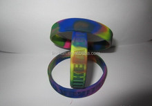 Christmas gift custom silicone wristband / bracelet / rubber band