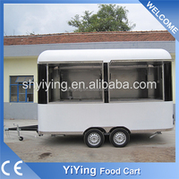 Wholesale china factory food van for sale