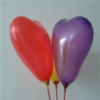 wholesale alibaba heart shaped latex balloon