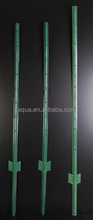 u type metal steel fence post supports
