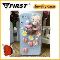Bling Crystal Rhinestone Hard Case Cover For Apple Iphone 5 5th 5G