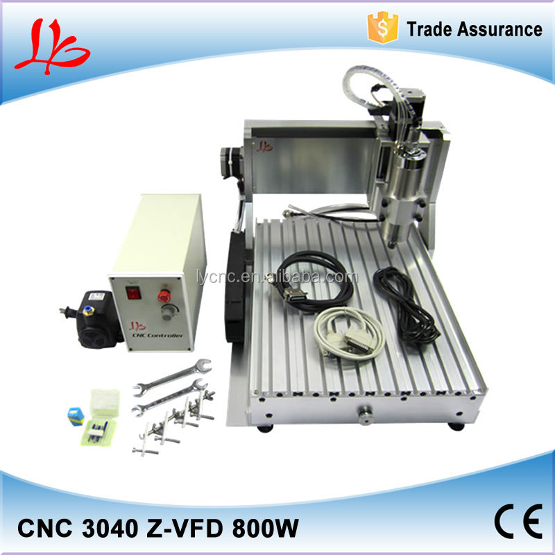 Neweat LY 3040 800W diy 3 axis <strong>cnc</strong>,with Ball screw 1605 ER11 Collet