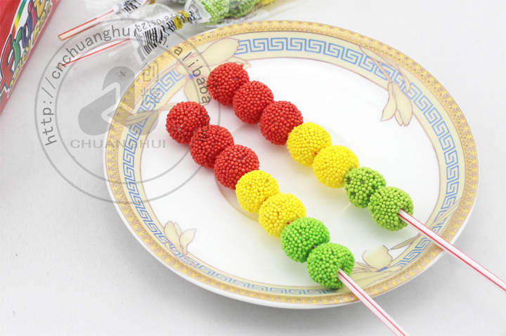 Fruits Jelly Candy Ball Traffic Light, gelatin candy