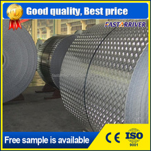 thickness 1.0mm 2.5mm 3.0mm 4.0mm aluminum checkered plate with 5 bar