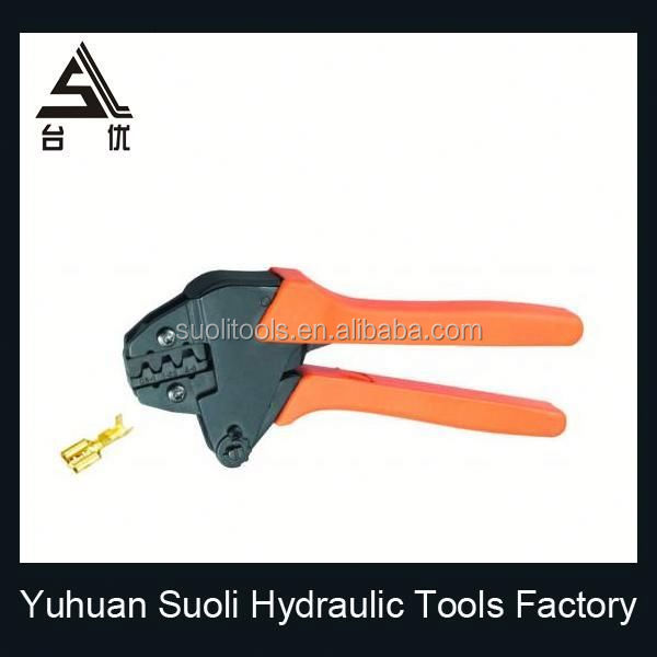 pvc handle chrome plated hand tool lead sealing pliers