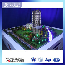 Hot Item!3D Scale Model with Beautiful Garden House Model and Modern Architecture Design