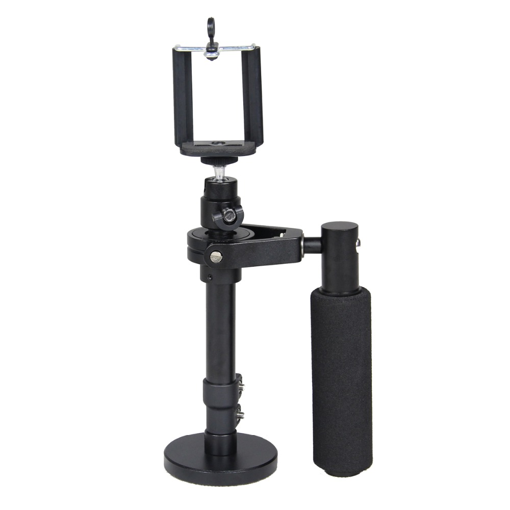YELANGU Aluminum Alloy Action Camera <strong>Handle</strong> Stabilizer For Smartphone