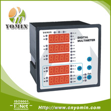 Manufacturer DX-E96T Multi-Functional Network Power Analyzer ,96*96 Digital Panel Meter Electrical Suppliers