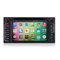 "OEM A9 Quad core Pure Android 5.1.1 HD 1024*600 16GB Mirror-Link 6.2"" Car DVD Player GPS Stereo Radio For Toyota HILUX 2001-2011"