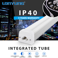 5 Years Warranty Movie theater shower room t5 tube5 led light tube red