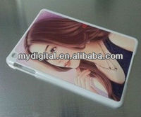 Hot sale 2013!!! make your own design, sublimation cover cases for ipad mini