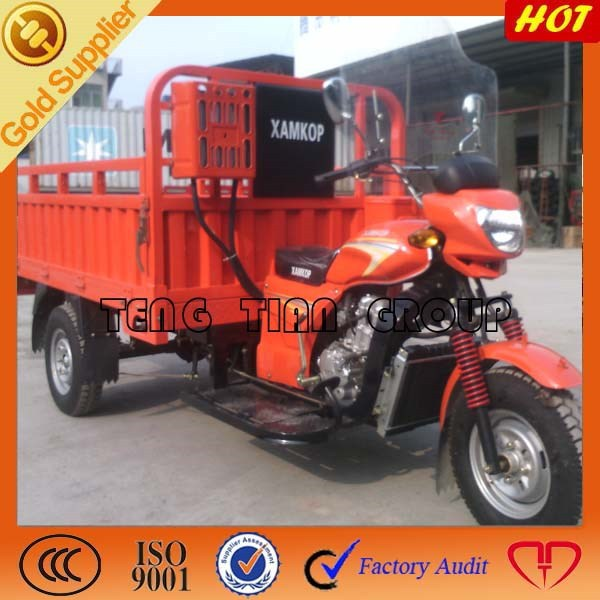 Chinese 300cc big cargo tricycle/three wheel motorcycle/electric tricycle