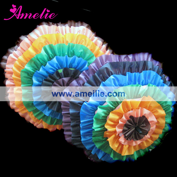 New products 2015 Rainbow Frill Promotion Kid Umbrella