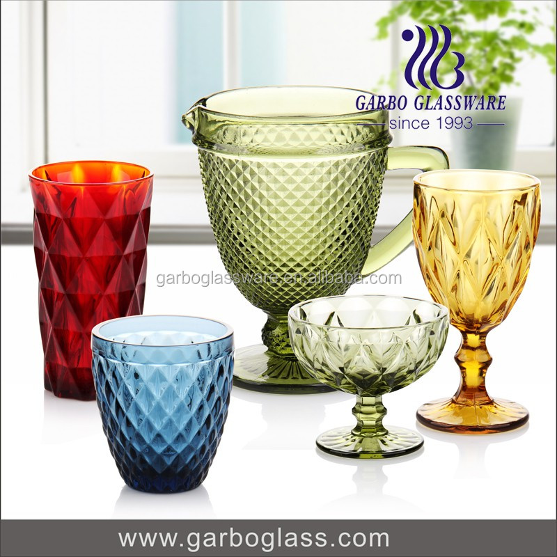 Hand Made Cheap Promotional Glass Cups Oem Wine Glass