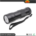Top quality Small portable Gift 12 LED UV Purple Light flashlight UV Torch