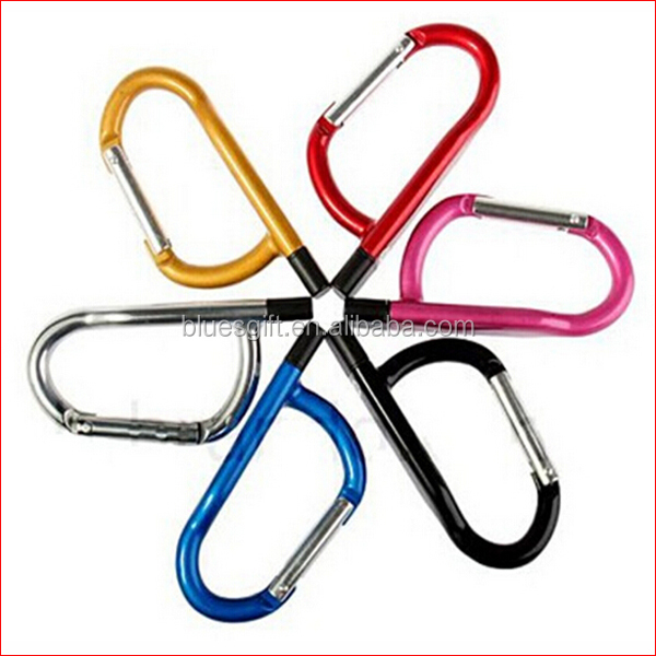 2014 Carabiner Metal USB Disk with 2GB